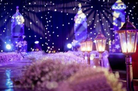 Тренд у весіллях космос зірки місяць