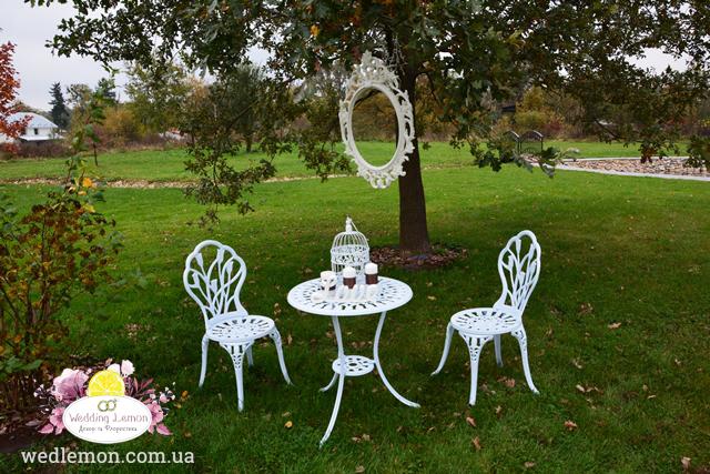 меблі для фотозони на весілля
