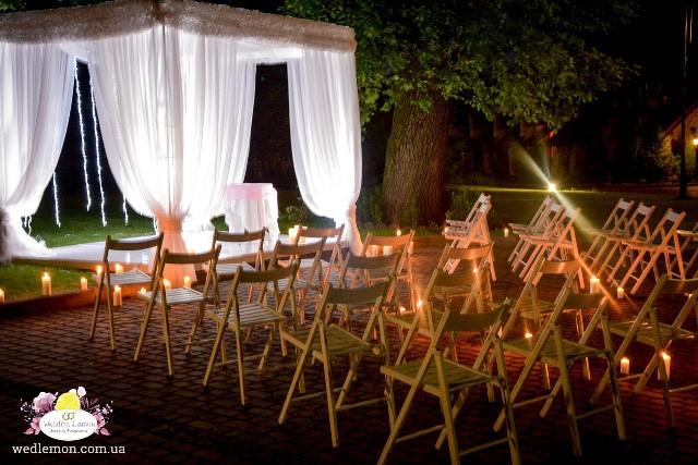 Організація оформлення вечірньої церемонії шлюбу
