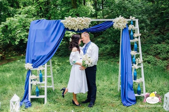 Організаці та формлення церемонії шлюбу у парку