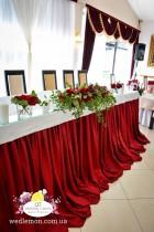 Стіл молодят в оформленні весілля, чому він такий важливий! фото
