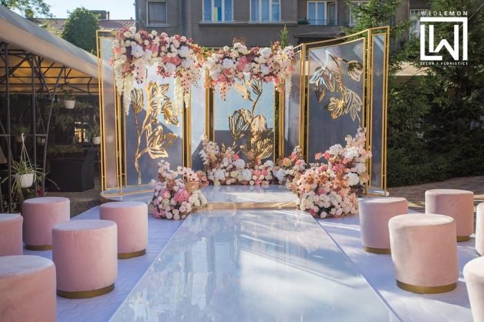 Виїзна церемонія у Львові. Оформлення та декор весільної церемонії