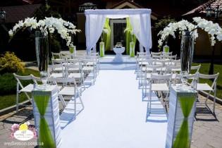 Організація, оформлення виїзної церемонії шлюбу фото