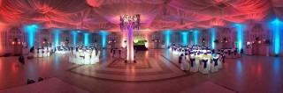 Світлове оформлення весілля фото