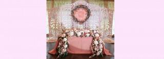 Різьбленні арки, ширми, фотозони на весілля фото