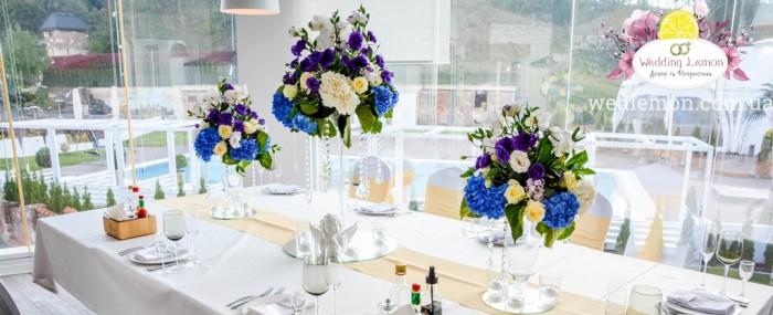 Квіткове оформлення весілля