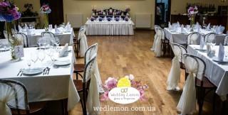 Оформлення весілля в готелі ресторану Жорж фото