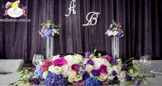 Оформлення весілля ресторан Грушевський cinema jazz фото
