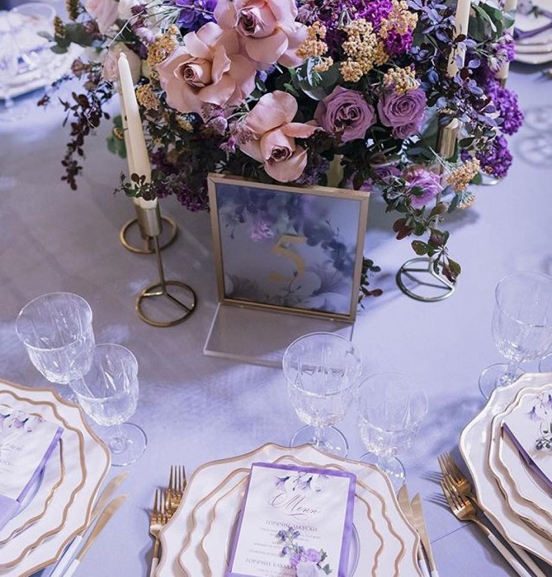Декор весільних столів