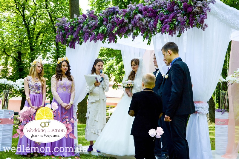 оформлення церемонії шлюбу