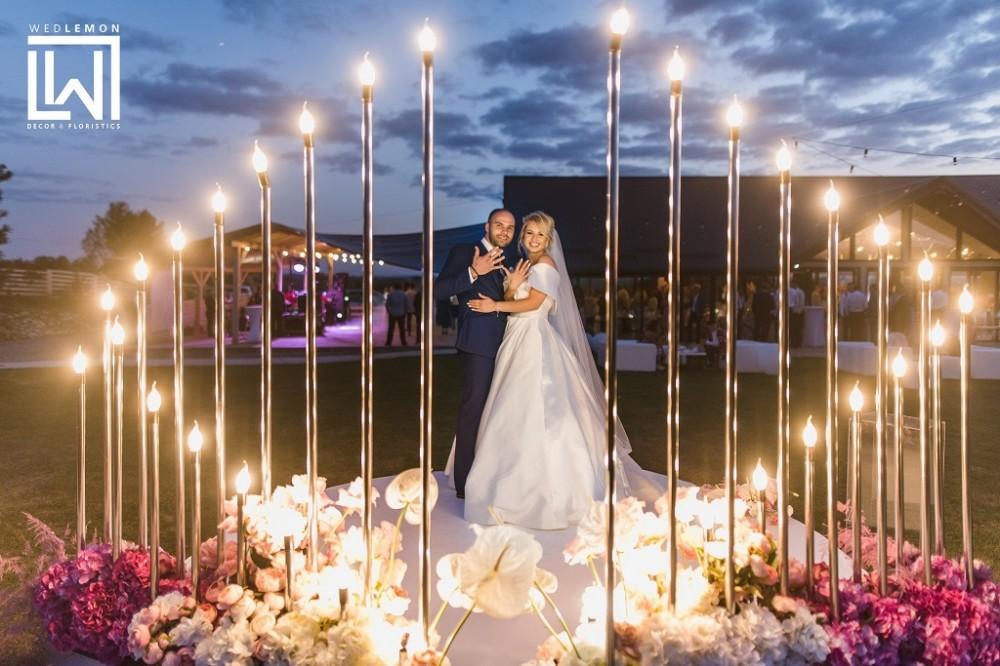 Декорації на весілля
