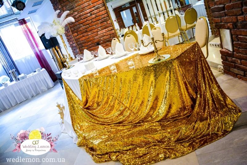 Стіл молодят декор весілля