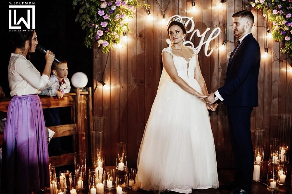 Весілля у Львові, фотозона з дошок