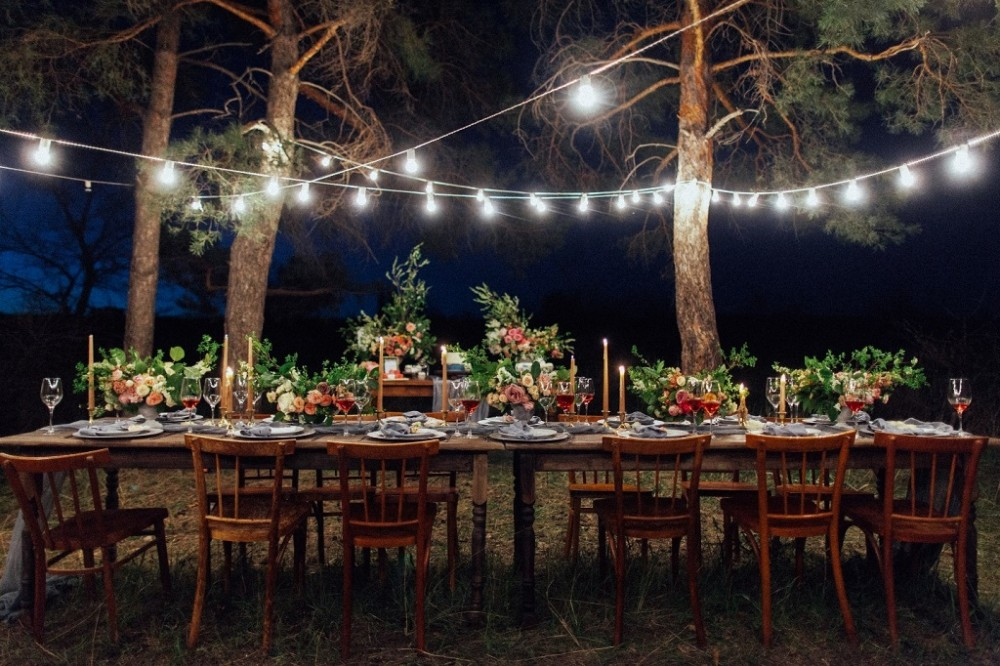 Маленьке весілля своїми руками, оформлення та організація