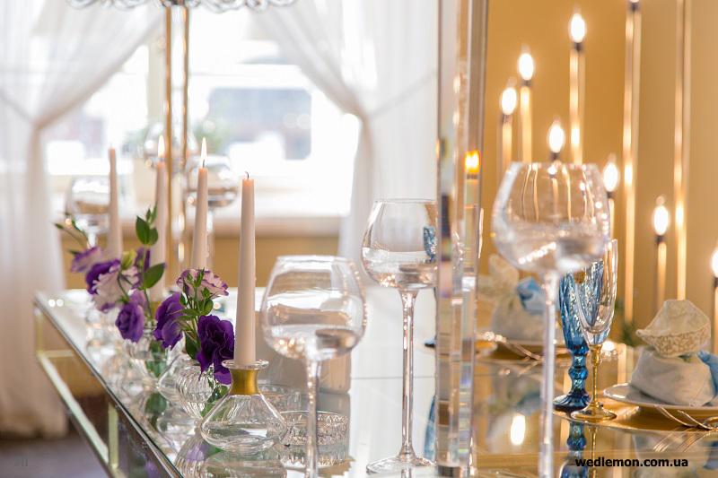 весільний стіл молодят