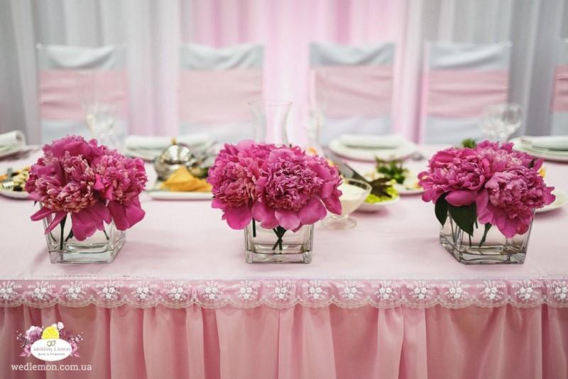 Квіти на стіл молодят