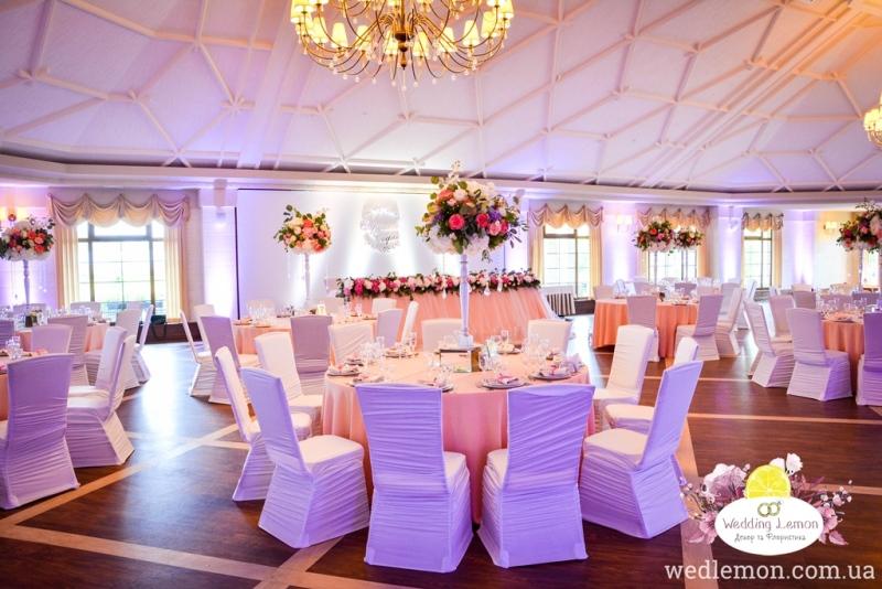 Оформлення залу на весілля Панська гора