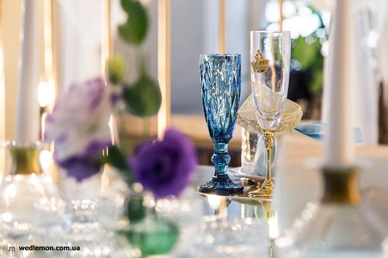 посуд на весілля