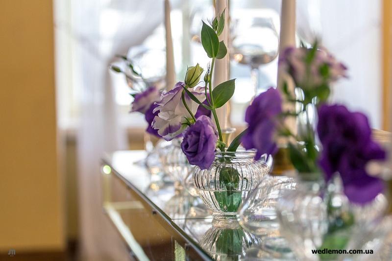 еустома квіти на весілля