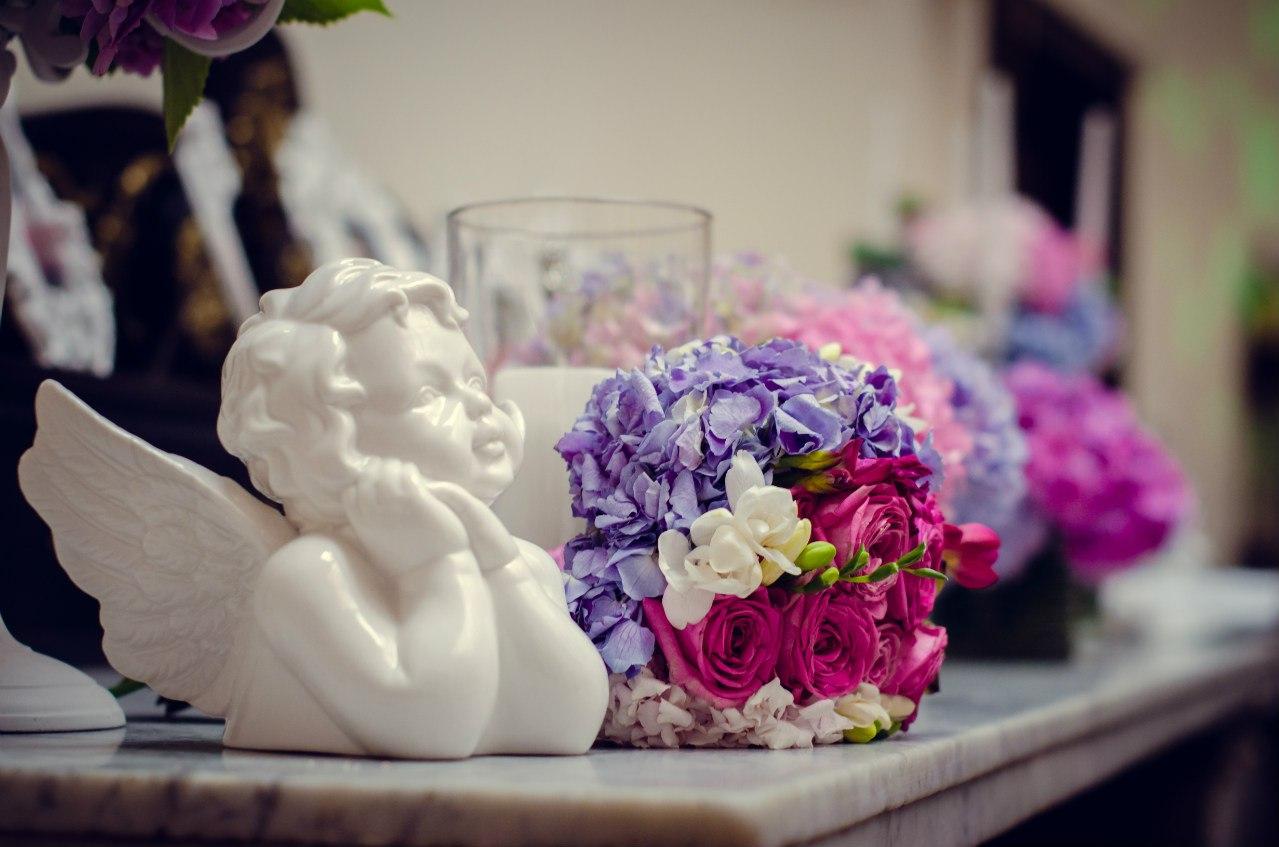 оформлення квітами