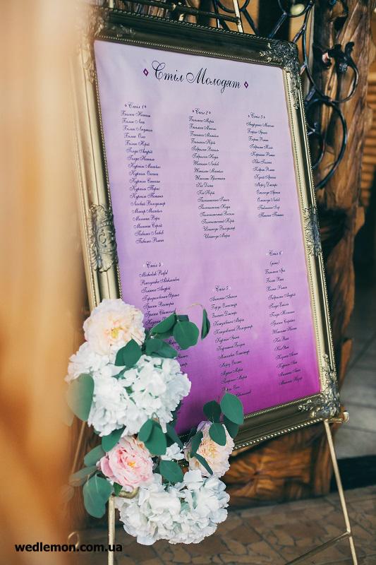 золота підставка для план схеми для гостей