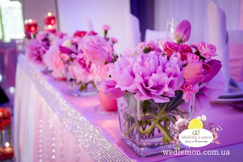 Оформлення залу на весілля Сантіно
