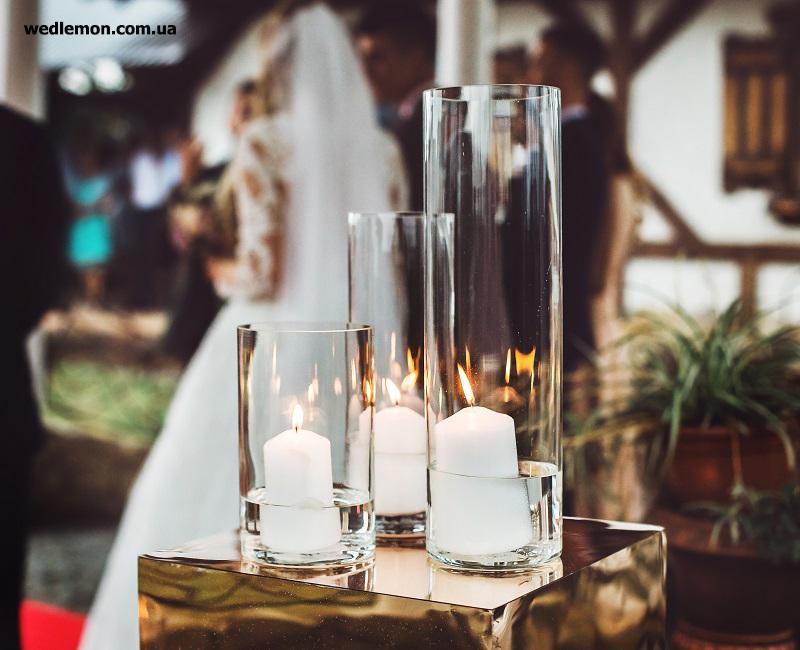 золоті куби на весілля