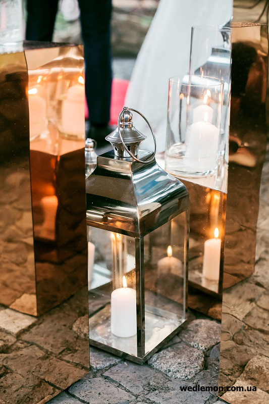 золоті куби для фотозони