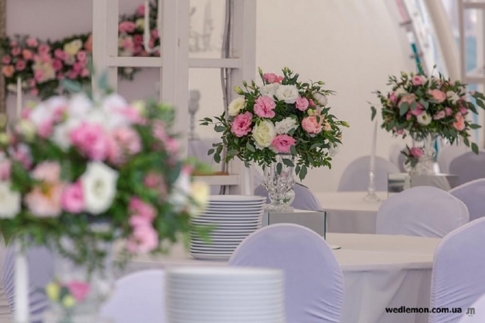 План схема гостей на весілля, гостьові столи оформлення