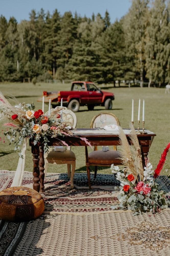 Бохо весілля, фото на весілля