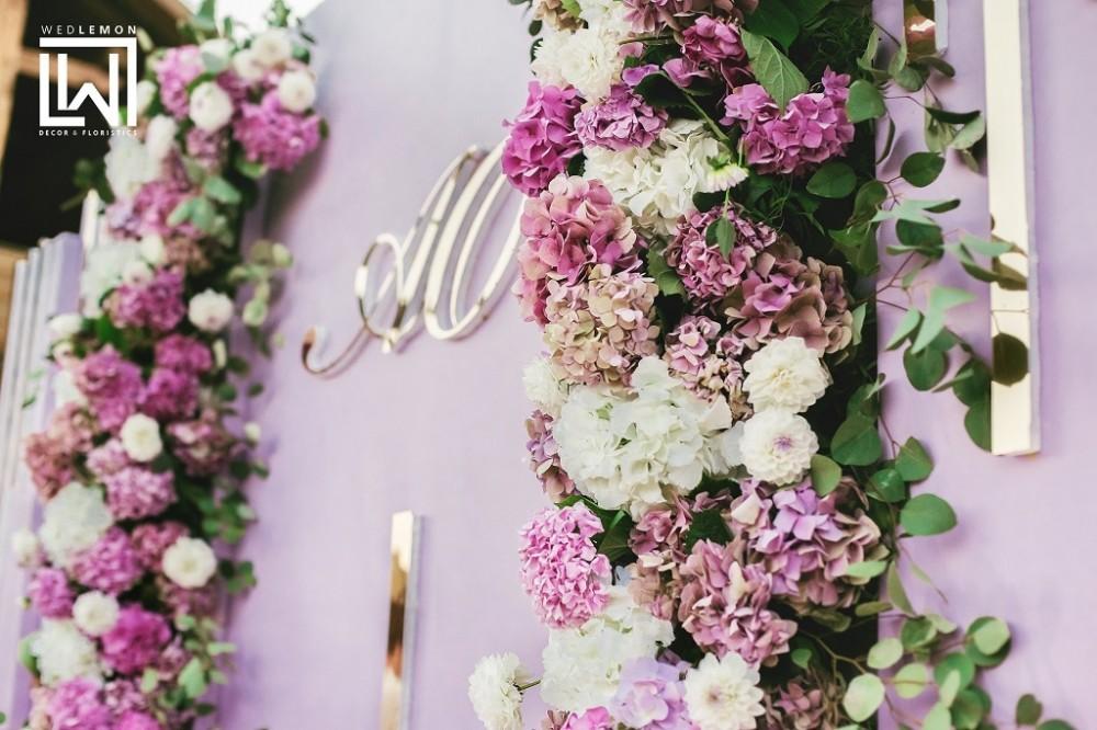 Декор на весілля, фотозона