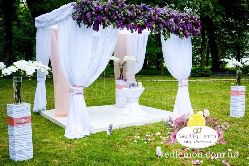 оформлення арки на весілля