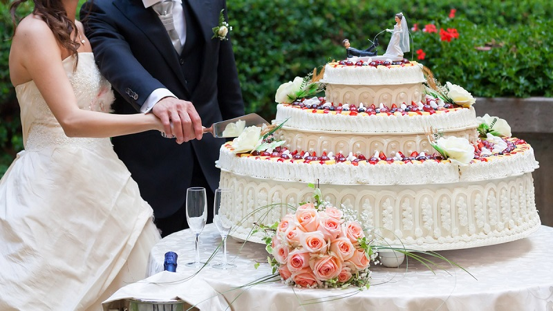 Ніж та лопатка набір для торта