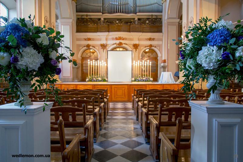 декор виїзної церемонії шлюбу