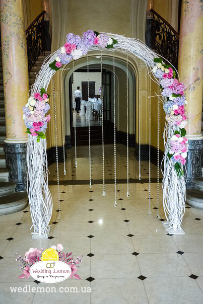оформлення весільних арок