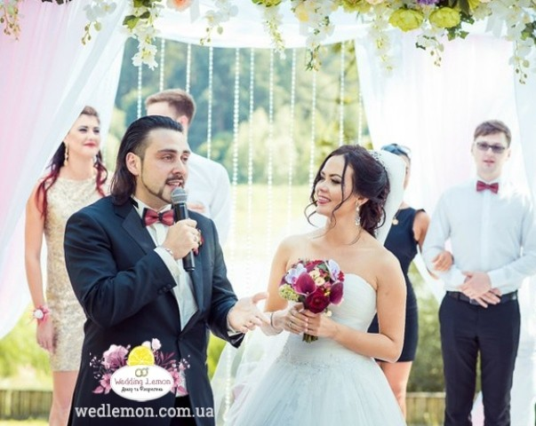 церемонія весілля у Львові
