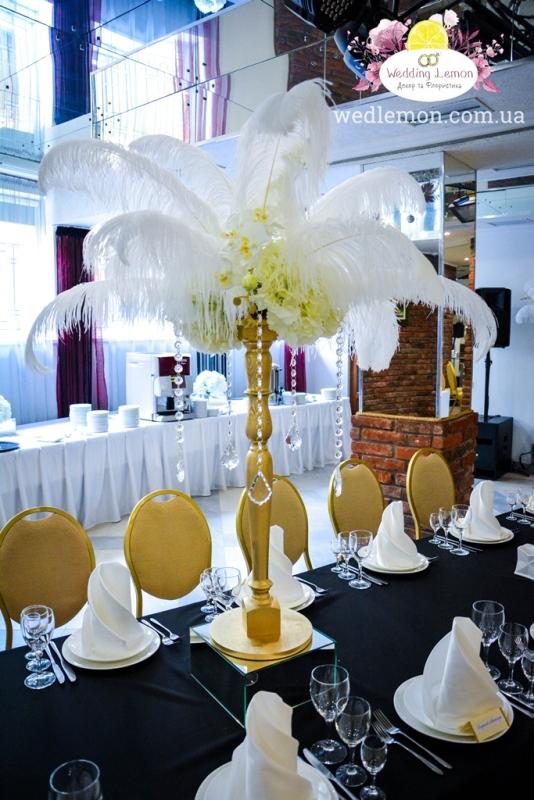 гетсбі декор на весілля