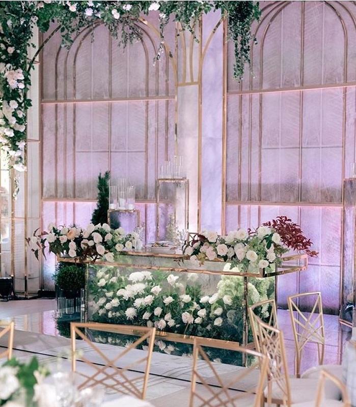 Весільний декор столу молоядт