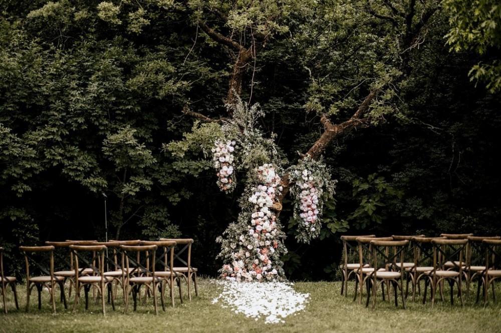 Весілля в лісу, організація весілля на природі, організація весілля у Львові