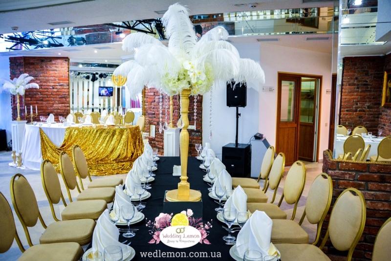 Стиль весілля Гетсбі