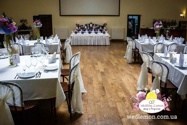 Оформлення весільного залу готель Жорж