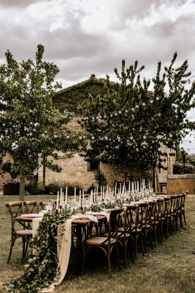 Оформлення весільних столів вдома