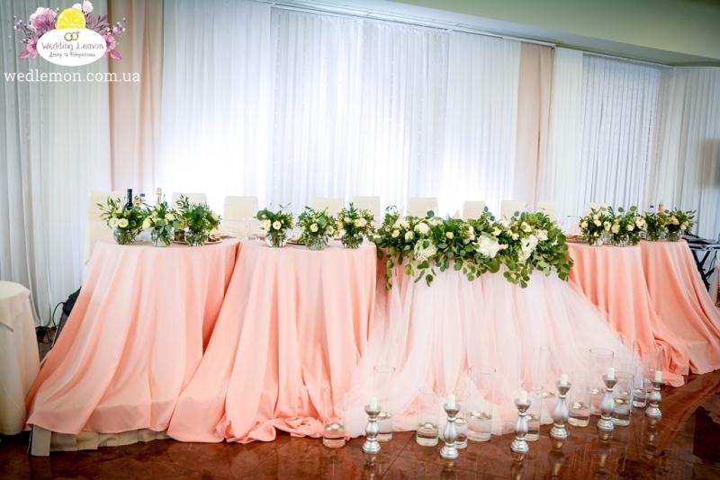 Декор весільного столу
