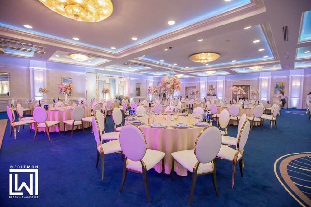 Ресторан Соната на весілля у Львові, оформлення залу, столів, оренда стільців
