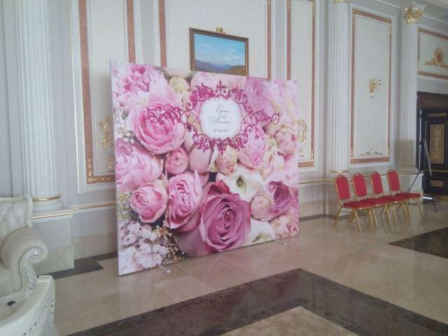 Банер на весілля Львів
