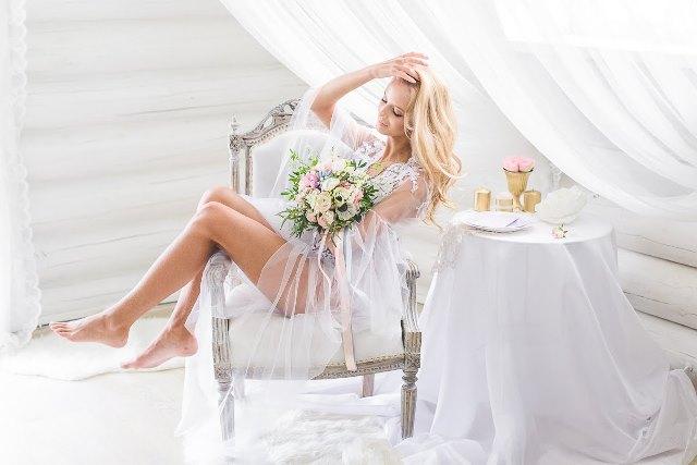 Ранок нареченої оформлений вдома