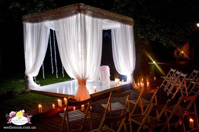 Вечірня церемонія шлюбу