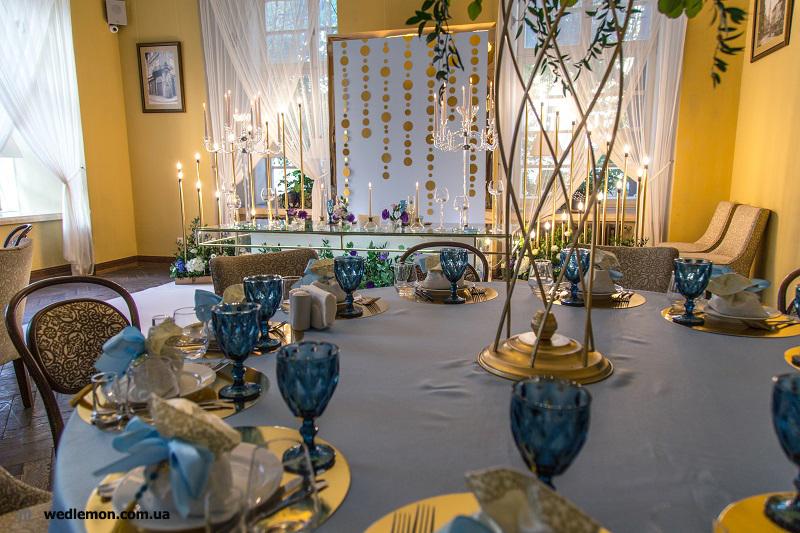 Декор на весілля ідеї оформлення столів
