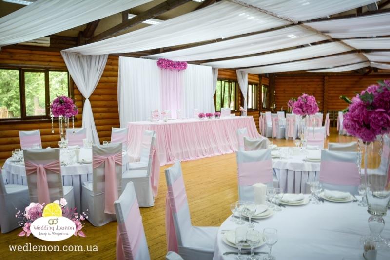 Декор залу на весілля