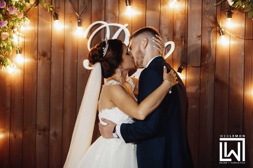фотозона на весілля з дошок
